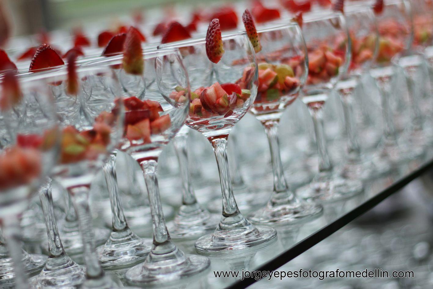 Copa de sangria #love #amor #copas #sangria #fruta #natural