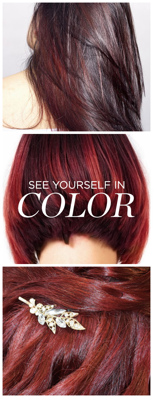Forget Drugstore Hair Color Made For You Custom Color From Esalon