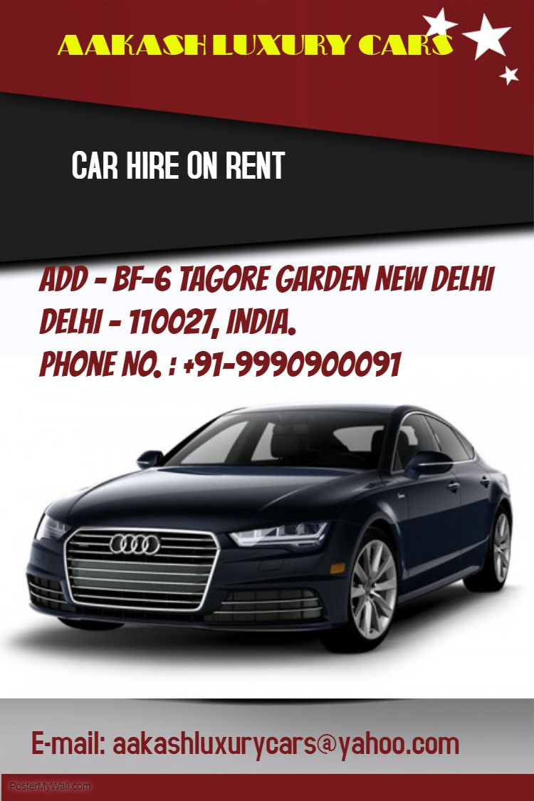 We Are Specialist In Providing Luxury Cars Like:  Audi  A4, Audi