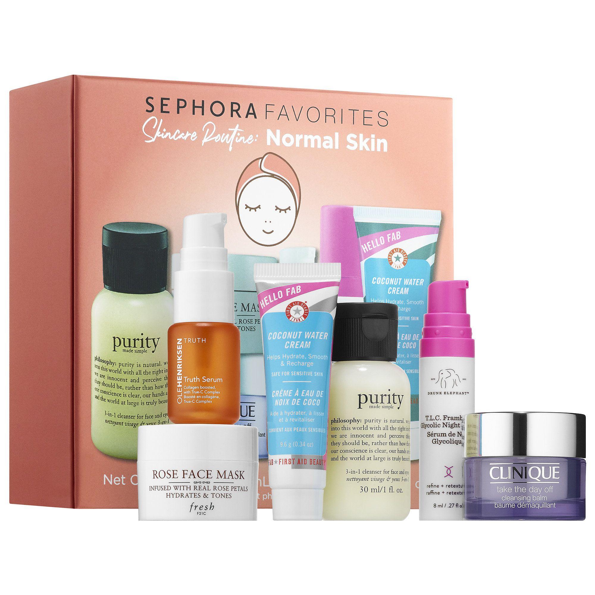 Sephora Favorites Set Skincare Routine Normal Skin New For