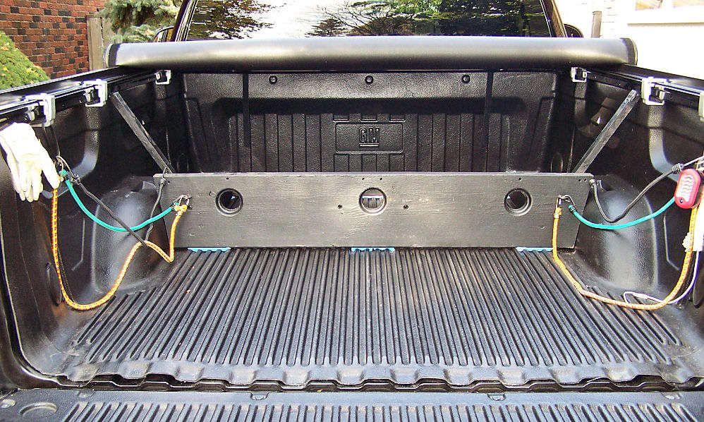 Truck Divider holddown Bed divider, Wood diy, Divider