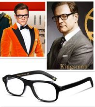 e8570874cd KINGSMAN fashion square eyeglasses frames Vintage optical myopia women and men  prescription glasses frame sun lens