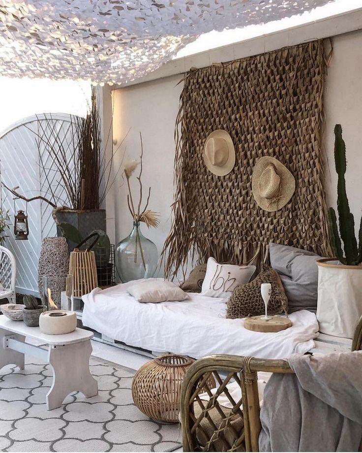 Bohemian Style Home Dekore mit neuesten Designs #bohemian #dekore #designs #Hom #strandhuis