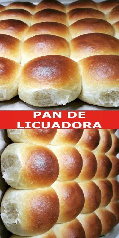 Aprende Cómo Hacer Pan En Licuadora Bread Recipes Homemade Mexican Sweet Breads Pan Dulce
