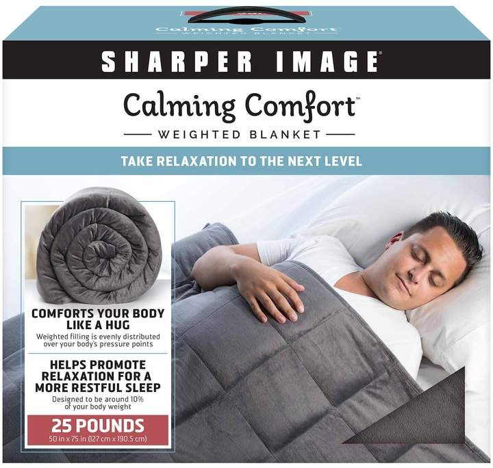 Calming Comfort 25 Lbs Weighted Blanket Products Pinterest