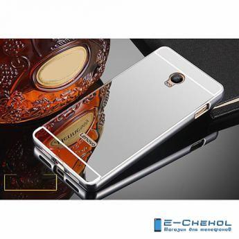Для Lenovo VIBE P1 металлический чехол, серебристого цвета, зеркальный