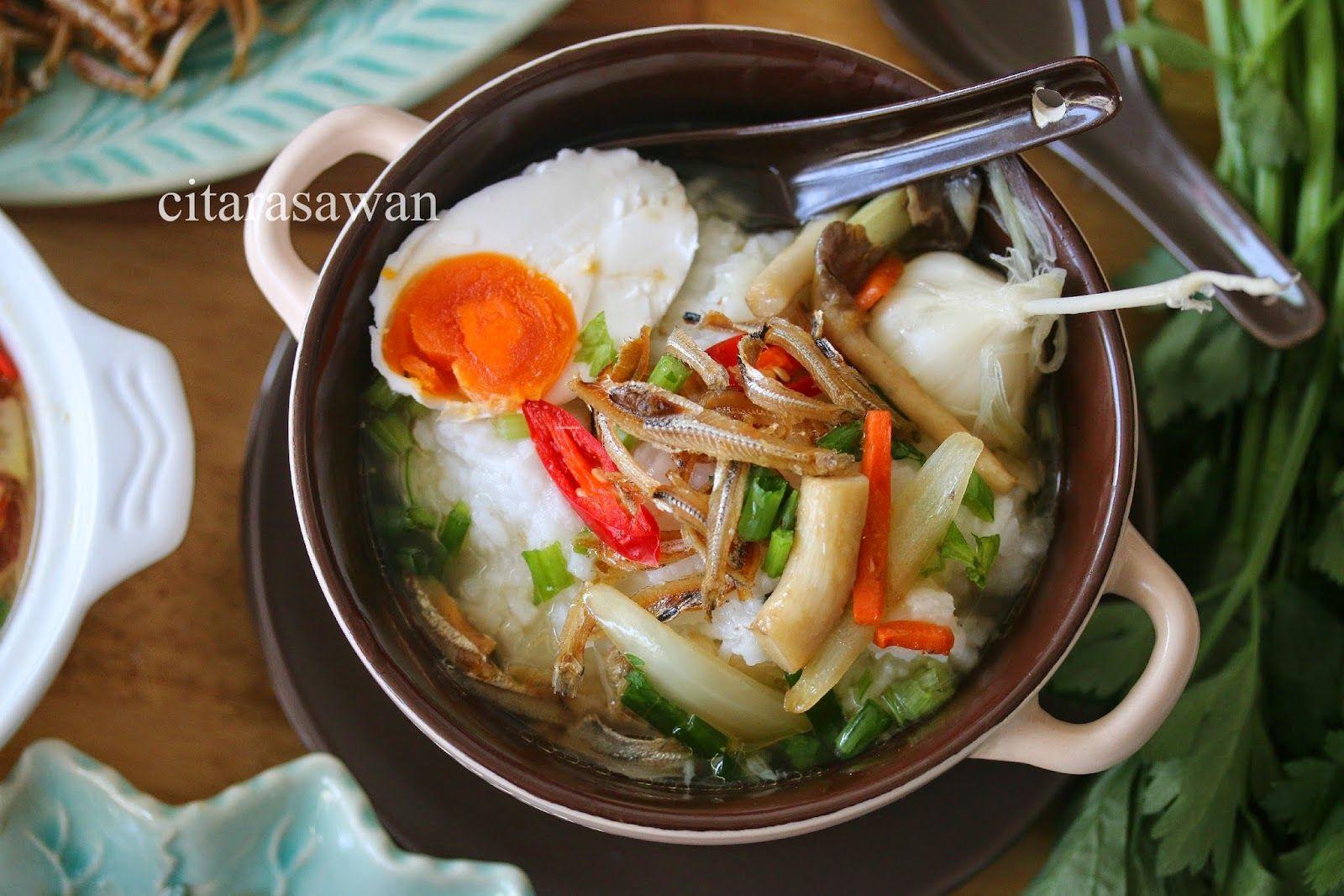 Bubur Nasi Berlauk Kelantan Resipi Citarasawan Resep Makanan Resep Sederhana Makanan