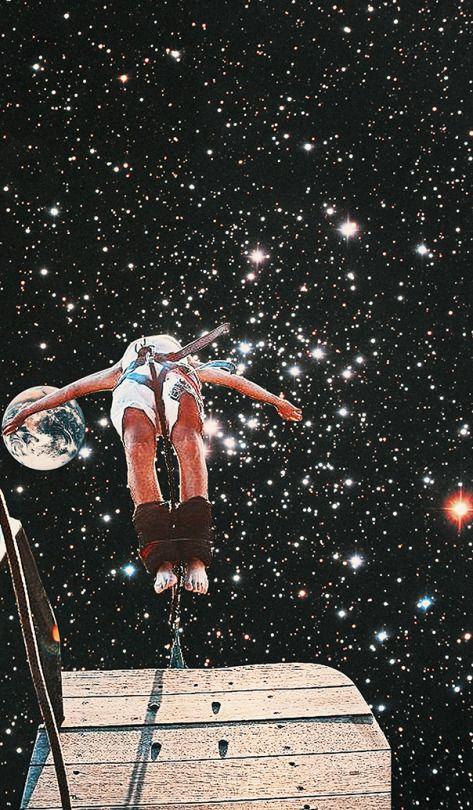 прыжок в космос картинка нее вполне современна