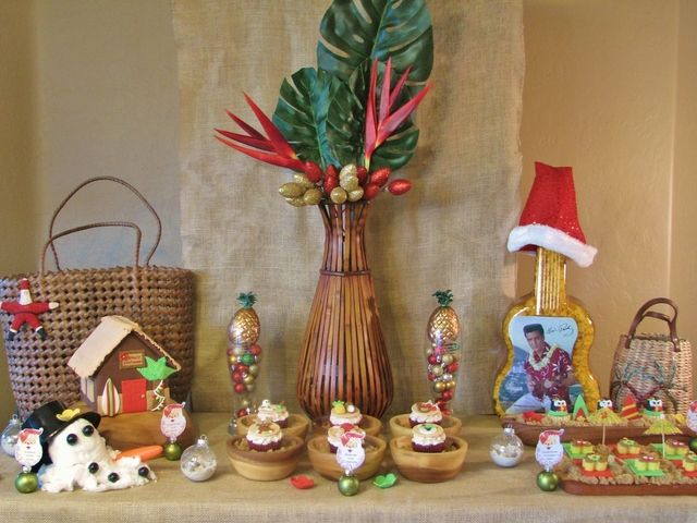 Tropical Christmas Birthday Christmas Holiday Party Ideas