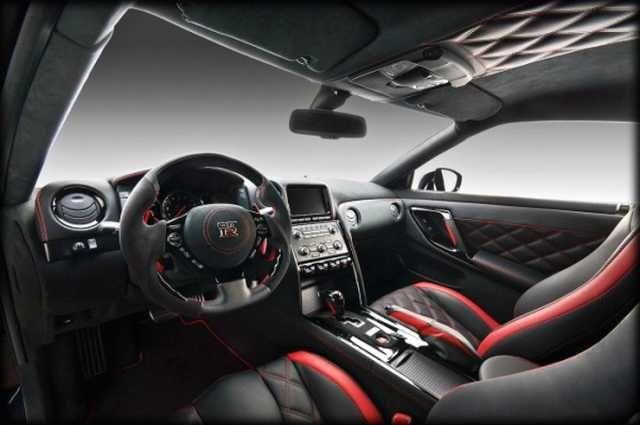 2017 Nissan Gtr Interior