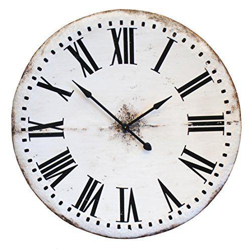 Oversized Wall Clock White