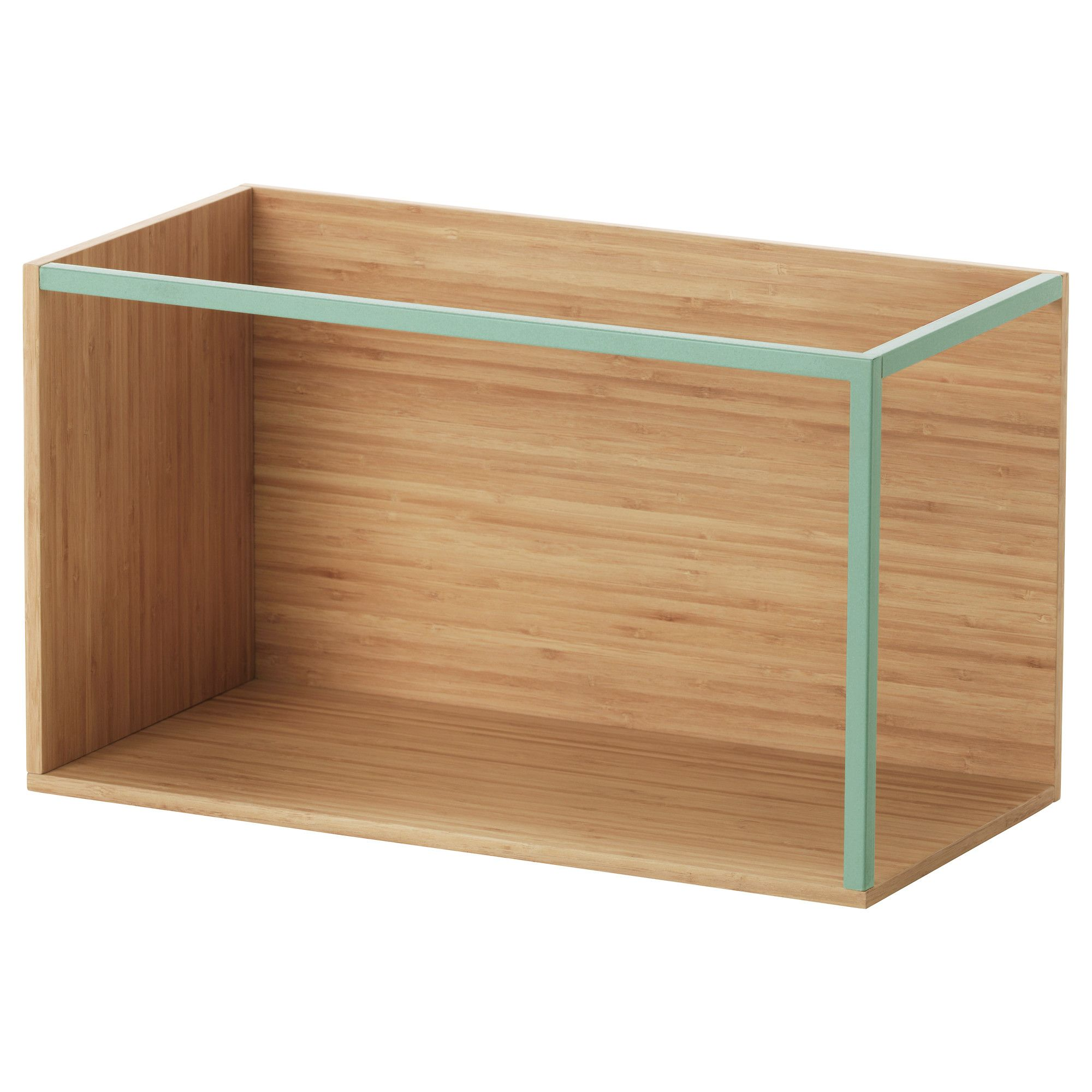 ikea ps 2014 storage module bamboo light green ikea. Black Bedroom Furniture Sets. Home Design Ideas
