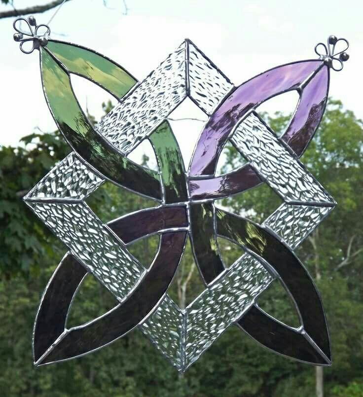 Celtics stained glasswork