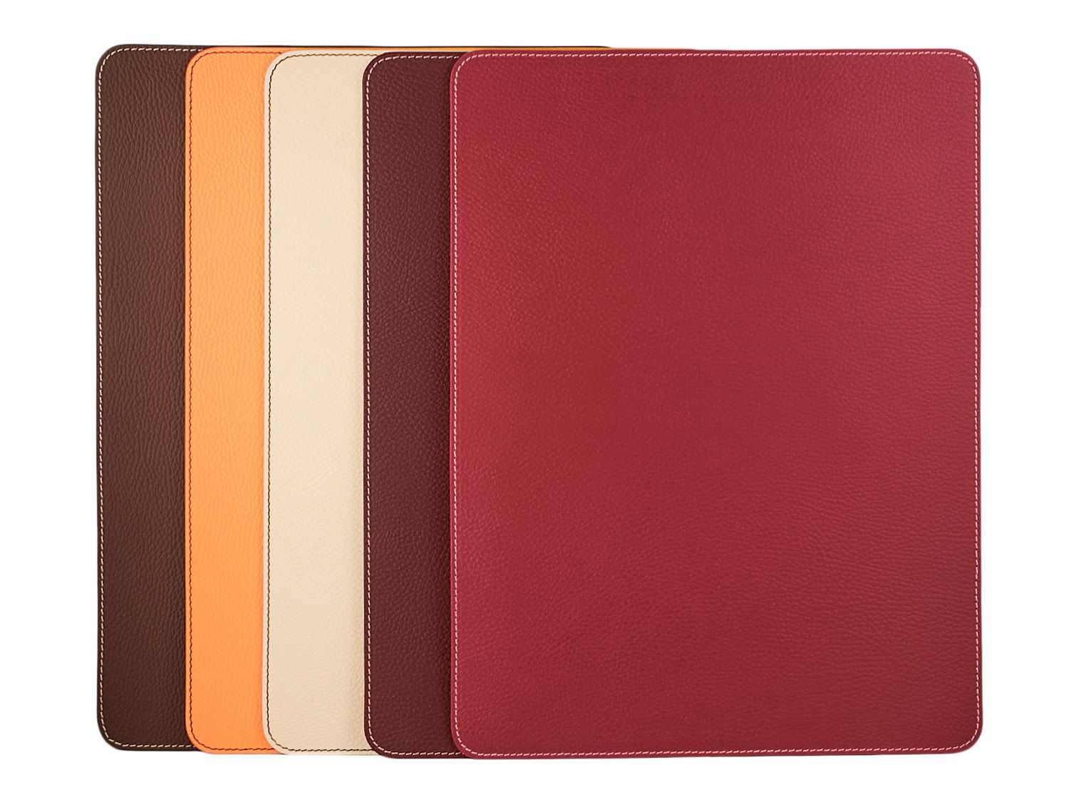 Dining table mats - Placemats Table Mats Orange Red White Burgundy Brown Dine Table Set Placemats