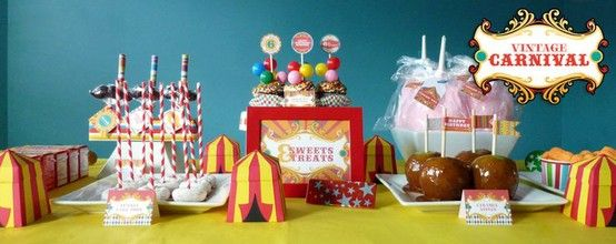 7 Inspirations for a Circus Themed Party