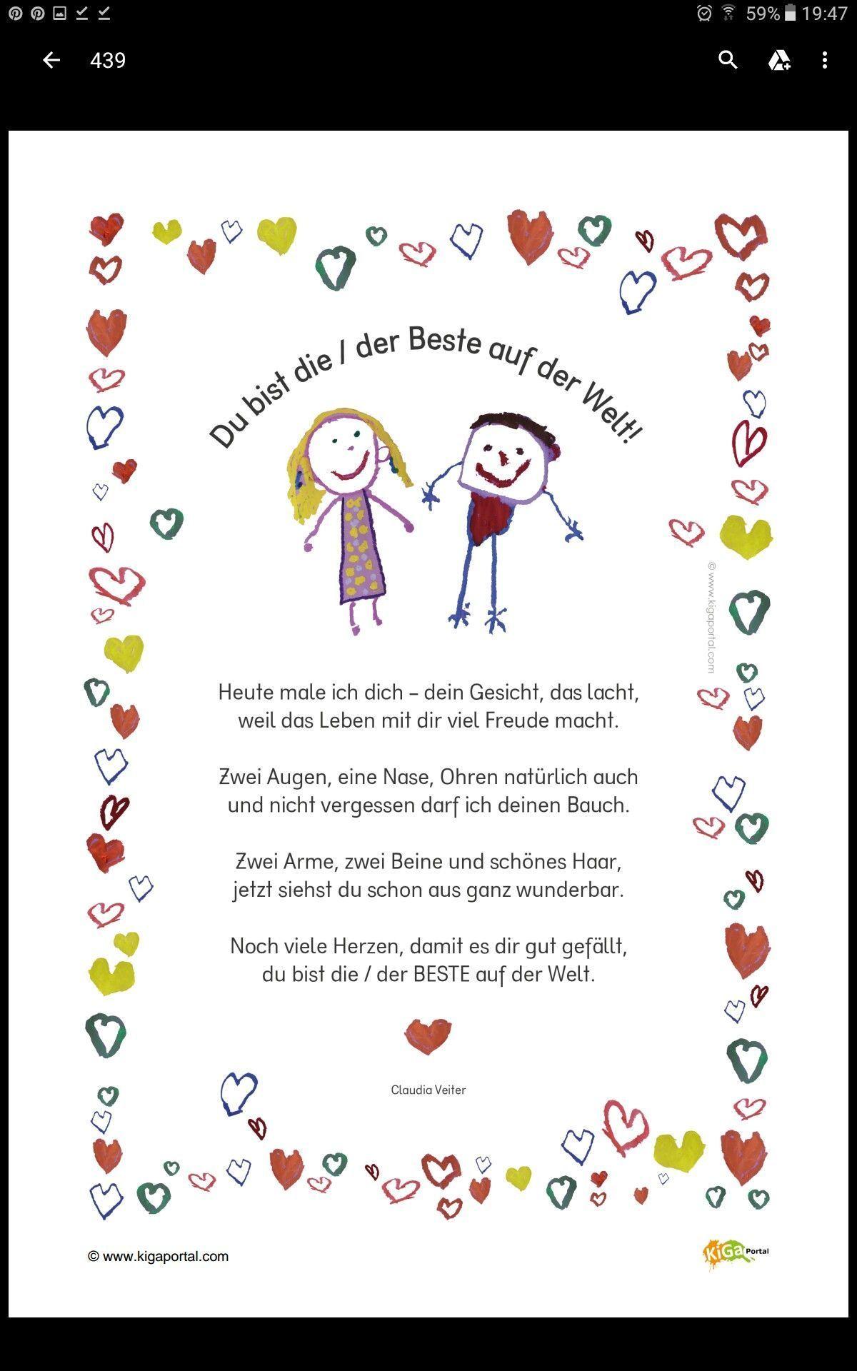 Gedicht Fur Mutter Vatertag Muttertag Geschenk Ideen Zum Basteln