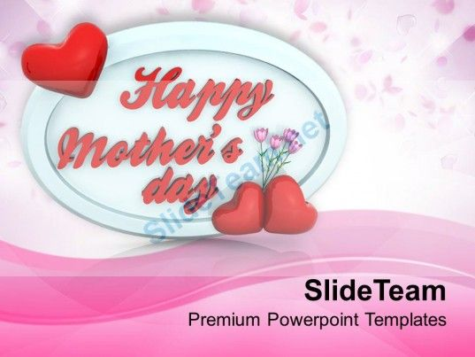 Gift from heart shows love to mothers powerpoint templates ppt check out this amazing template to make your presentations look awesome at toneelgroepblik Choice Image