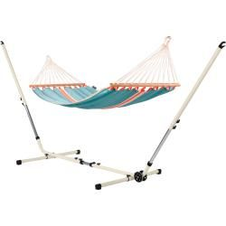 Photo of Fruta Curaçao – single rod hammock with powder-coated steel frame La Siesta