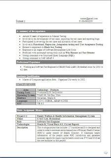 standard resume formats sample templateexcellent curriculum vitae