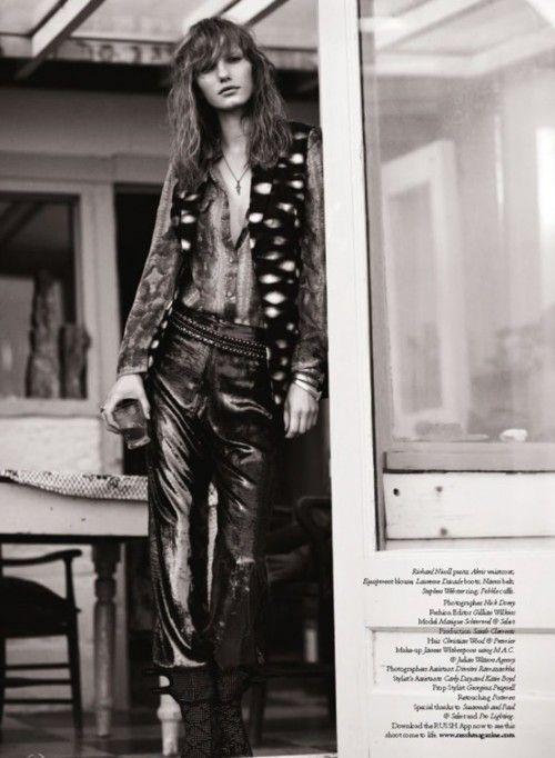 70s flair. #coachella