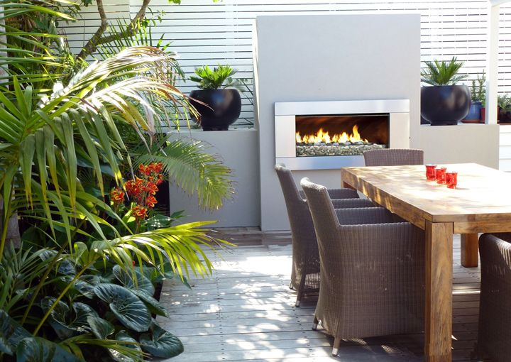 Relaxed Al Fresco Fireside Living | Alfresco, Patio ... on Relaxed Outdoor Living id=38035