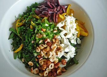 Mediterranean Green Bean Salad Ready to Toss by jfhaugen