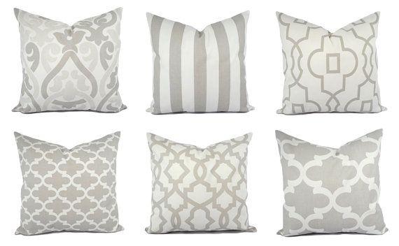 10 Buoyant Clever Ideas Decorative Pillows Orange Grey Decorative