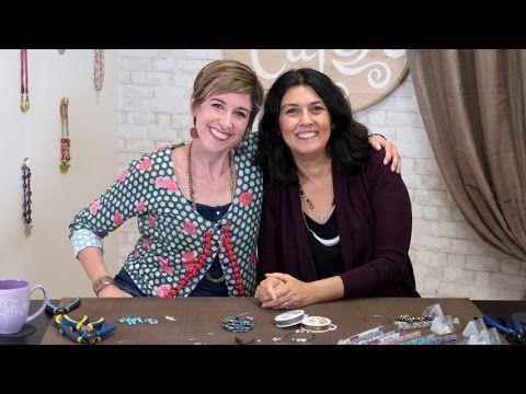 Cynthia Kimura is joined by renowned jewelry artist Candie Cooper on this episode of Artbeads Cafe. Find the items featured in this video here: http://www.ar...