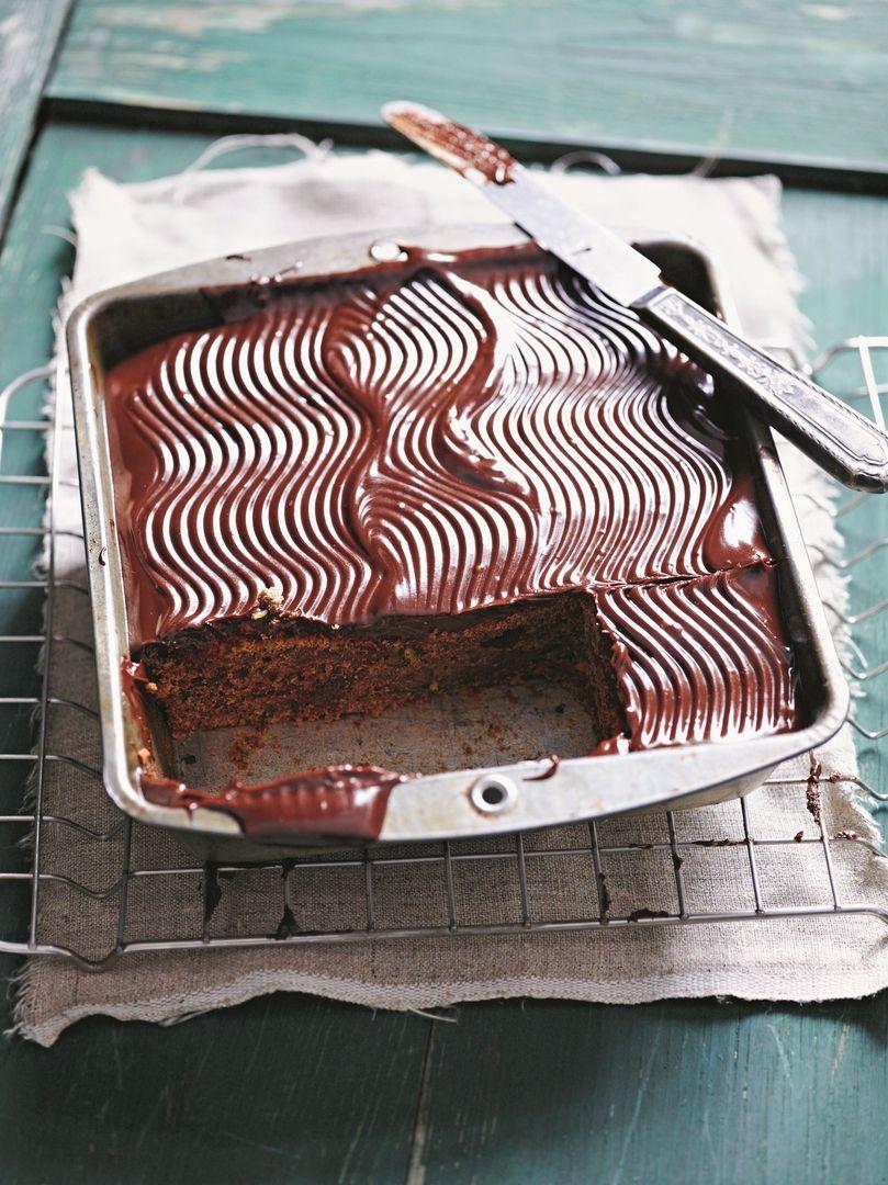 J3: Bezlepkový čokoládovo- banánový koláč