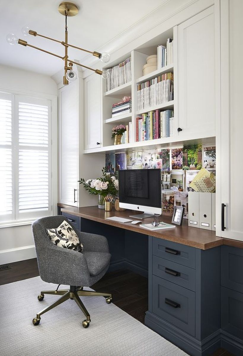 36 Affordable Home Office Decoration Ideas To Give You Chance To Do Some Business At Home Matchness Com Home Office Decor Small Home Office Home Office Design