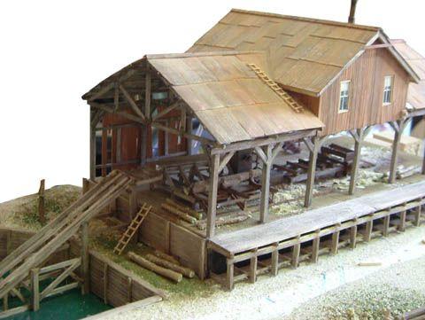 Model Sawmill