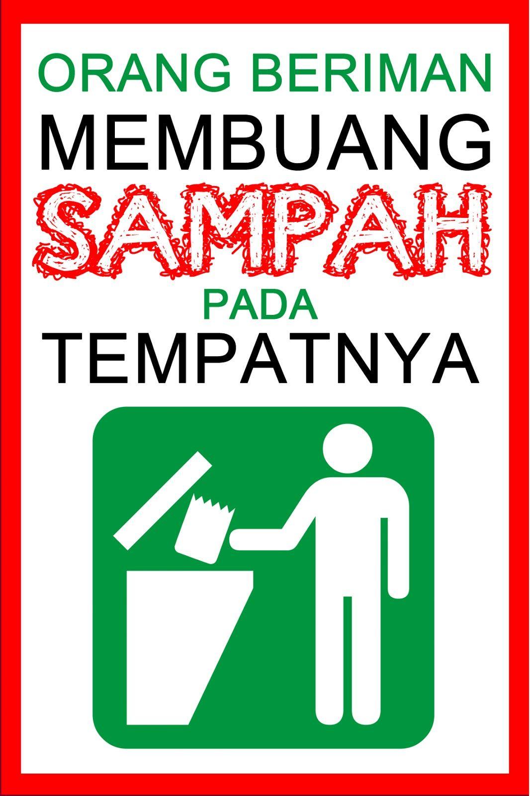 Hasil Carian Imej Untuk Logo Buang Sampah Pada Tempatnya