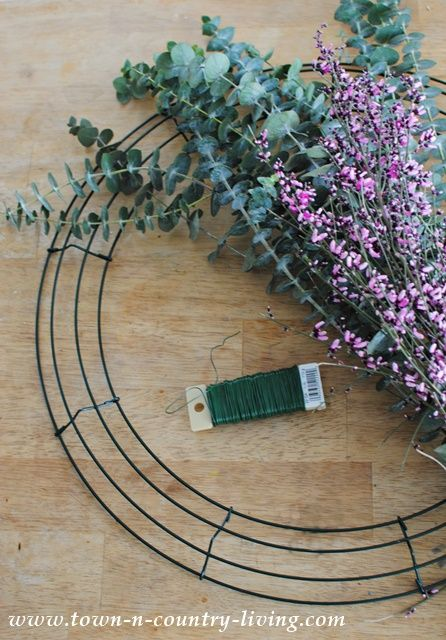 Photo of How to Make a Eucalyptus Wreath – Town & Country Living