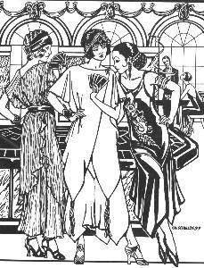 the monte carlo dress was a popular 1920s fashion among the young The Fashion of 1920 S the monte carlo dress was a popular 1920s fashion among the young adventurous flapper girls