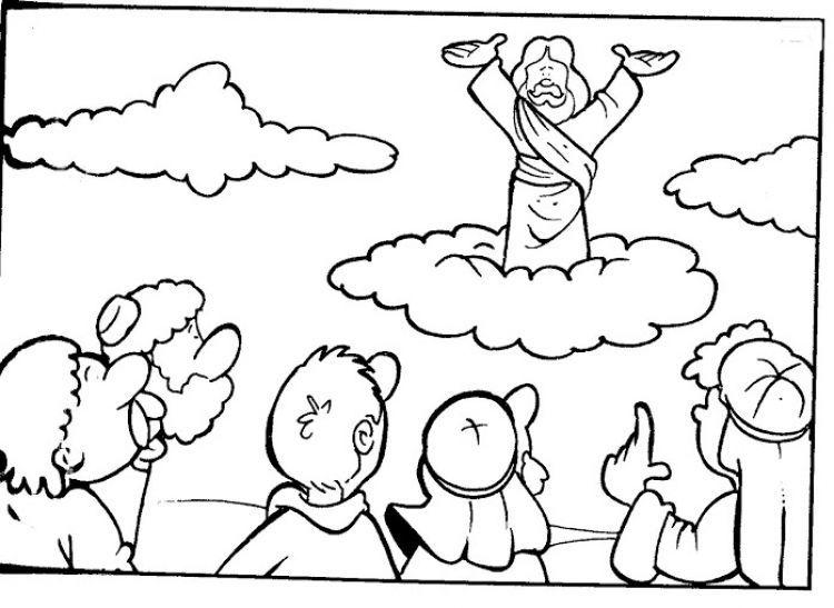 Dibujos Para Colorear Cristianos Dibujos Cristianos Imagen De Semana Santa Resurreccion De Jesus Artesania Biblica