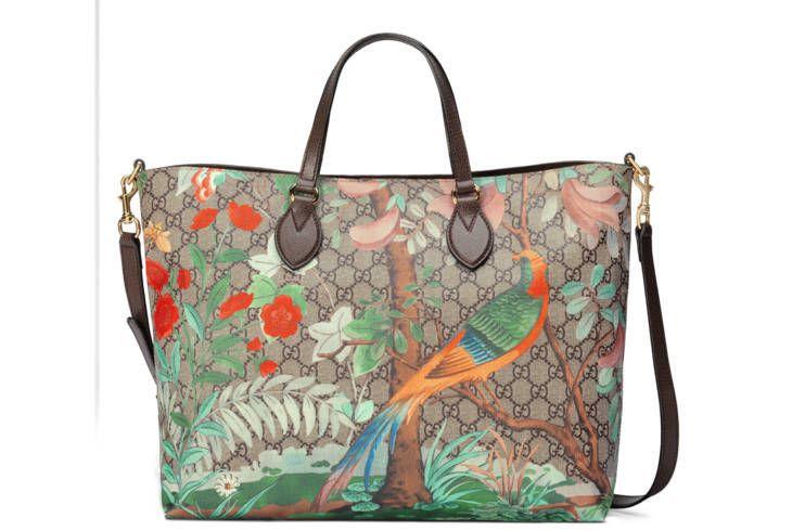 7244d5434 GG Supreme tote v roku 2019 | Handbags | Gucci tote bag, Printed ...
