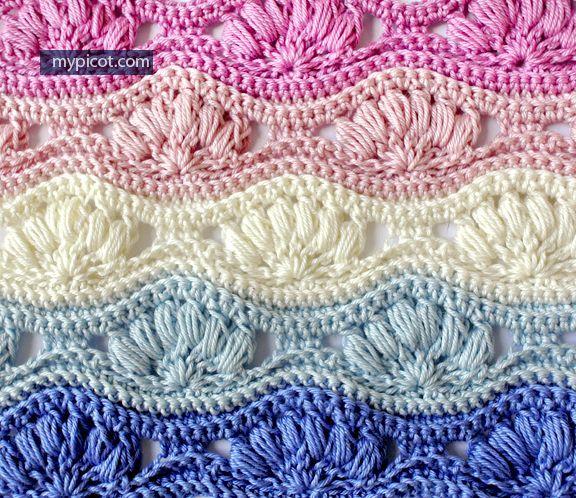 MyPicot | Patrones de ganchillo gratis: | tejidos, bordados ...