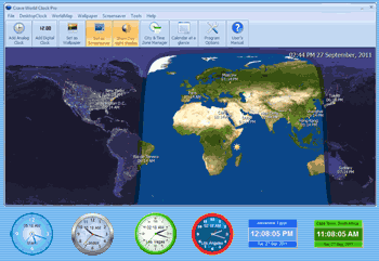 Crave World Clock Current Time For Major Cities On Your Desktop