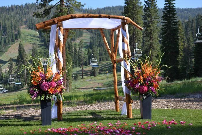 Build A Wooden Wedding Arch