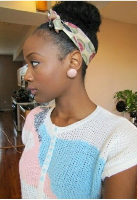 Natural Hairstyles For Job Interviews Very Cute And Neat  Natural Hair Rocks  Pinterest