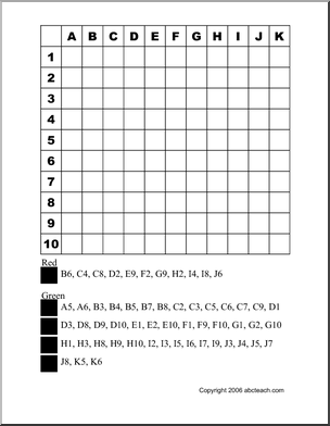 mystery grid coloring pages