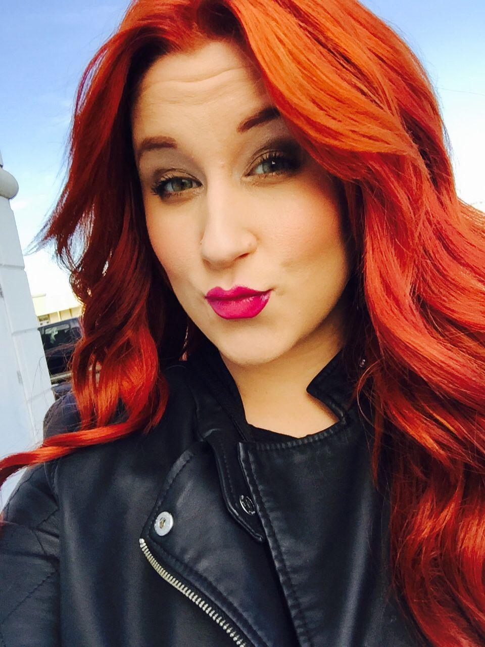 Redhead. Samantha Minyard