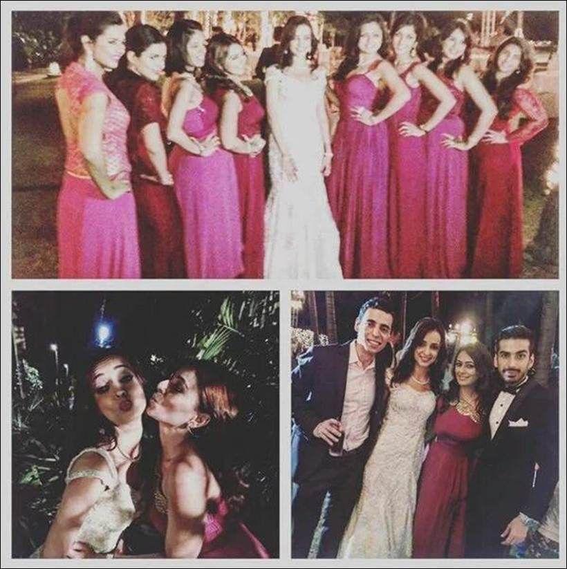 Sanaya Irani Wedding Reception