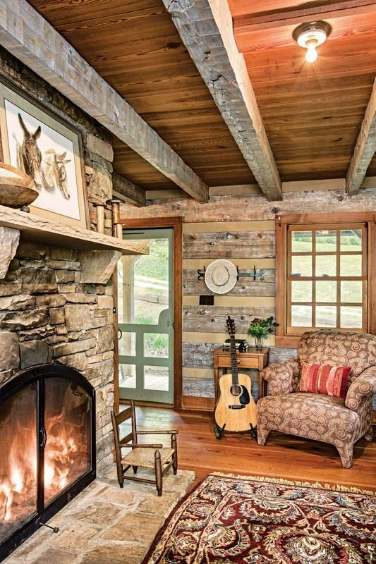 Photo of A Cozy Cabin with a Rustic Feel