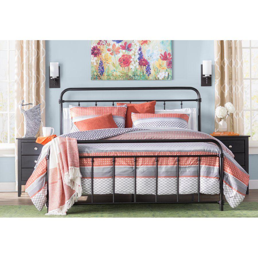 Matheney Platform Bed Twin size bed frame, Bed frame
