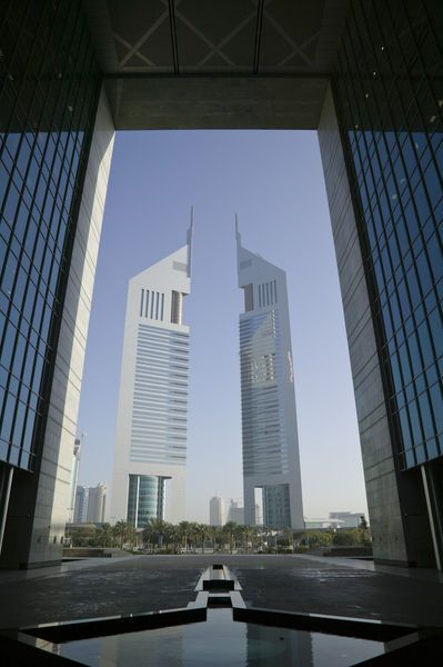 Dubai United Arab Emirates Walter Bibikow Dubai Architecture