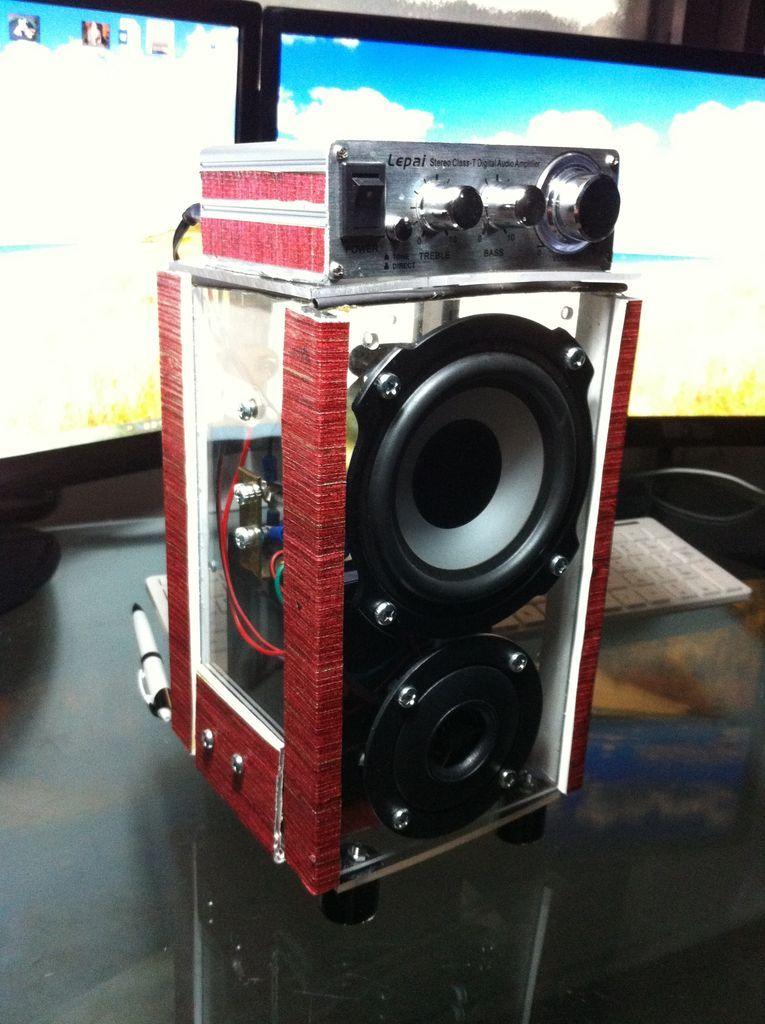 Mini BoomBox   Electronics Projects   Boombox, Diy ...