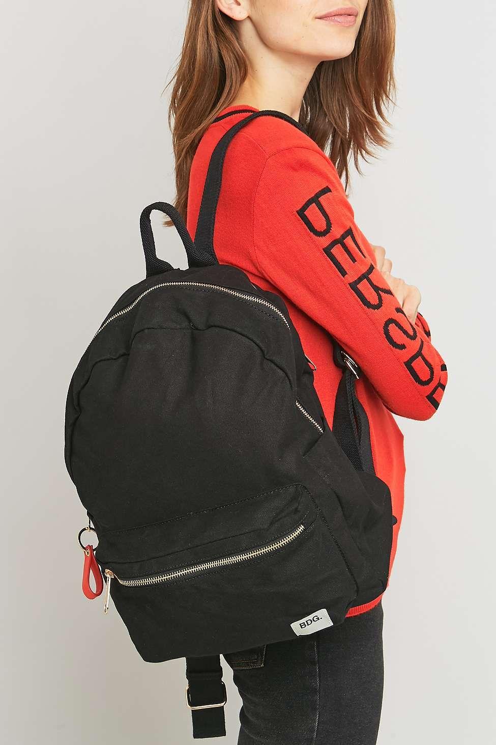 7baebfb1d856 Bdg Canvas Backpack Black- Fenix Toulouse Handball
