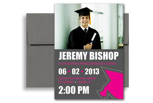 2013 Make Your Own Graduation Invitation Example 5x7 in. Vertical