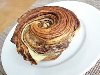 Clogged arteries have never looked so beautiful! chocolate swirl brioche.